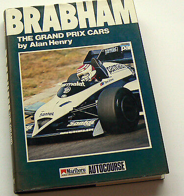 Jack Brabham SIGNED The Grand Prix Cars, Alan Henry, HB 1st Ed 1985, Autocourse
