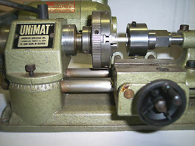 """1"""" & 13/16"""" Round And Hex Die Holder For Unimat Sl/db Lathe"""