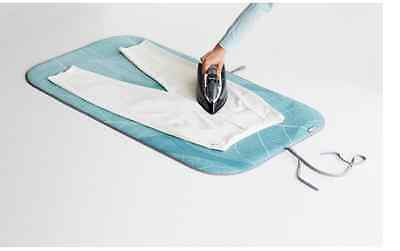 Brabantia Ironing Blanket, Table Top Ironing Pad - Mint leaves, 65x120cm