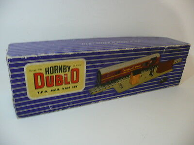 Hornby Dublo D1 3 Rail Tpo Set With Mail Bags Fully Working Boxed Vgc