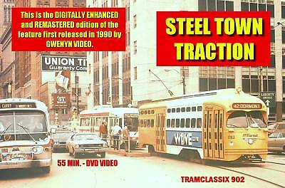 STEEL TOWN TRACTION Pittsburgh trolley DVD Video
