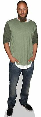 Travis Fimmel Cardboard Cutout (life size OR mini size). Standee. Stand Up.