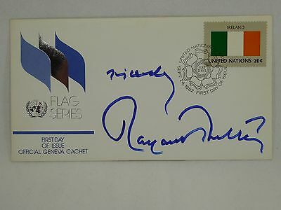 Margaret Thatcher Signed First Day Cover FDC Autographed British Prime Minister