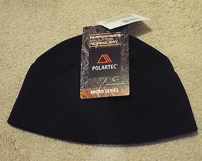 NWT US Army Black ECWCS Polartec Classic Micro Fleece Watch Cap Hat Beanie CW