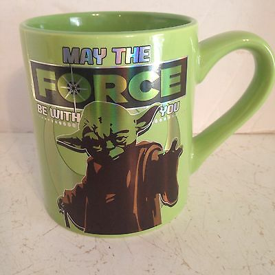 "Star Wars ""May the Force Be With You"" 14 oz Yoda Cup"