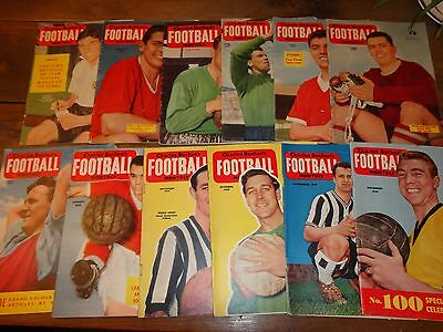 Football magazines Charles Buchan's Football monthly 1959 all 12 issues set