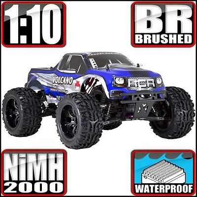 RedCat Racing Volcano EPX 4WD Monster Truck Blue - FREE SHIPPING