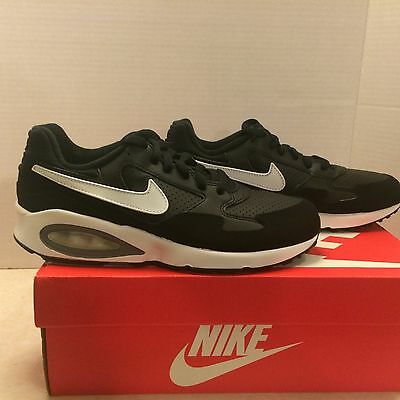 654288 001 NIKE AIR MAX ST (GS) youth kids shoes BRAND NEW Size 7Y black/white