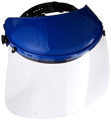 Lincoln Electric KH612 Plastic Clear Face Shield, Black and Blue(Pack of 1)