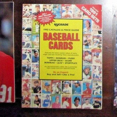 Vintage Hygrade Copyright 1991-1992  Catalog & Price Guide of Baseball Cards