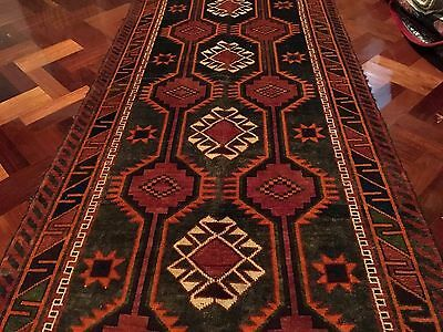 Tribal Antique Authentic Wool Handmade Hand Knotted  Persian Rug