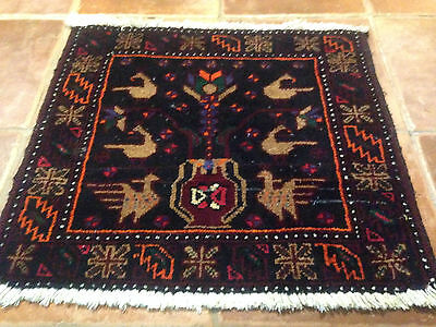 Beautiful Pictorial Authentic Wool Handmade Hand Knotted  Persian Rug Carpet