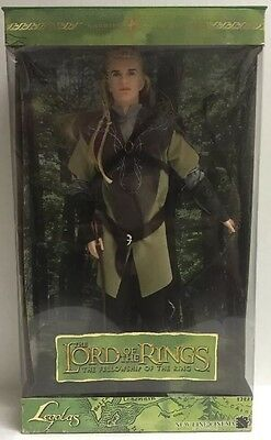 KEN BARBIE Doll LEGOLAS Lord of the Rings Fellowship of the Ring wCOA Collectors