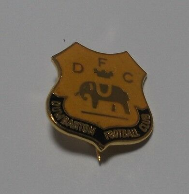 Dumbarton Fc - Enamel Crest Badge