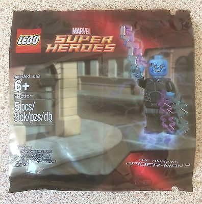 Lego Super Heroes ELECTRO 5002125 Polybag. New. FREE P+P