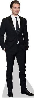 Sebastian Stan Cardboard Cutout (life size OR mini size). Standee. Stand Up.