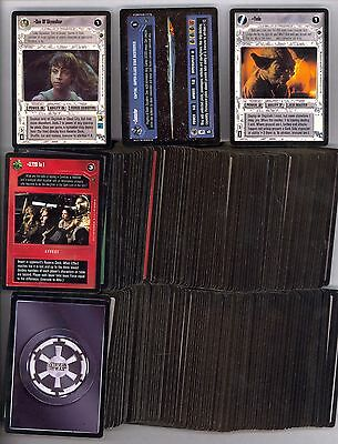 Dagobah Complete Set 180 Cards Near Mint Unplayed Decipher Ccg Comic Kings