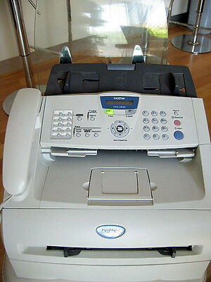 Brother FAX-2820 Fax Machine Copier USB Printer Prints well SYDNEY PU or POST
