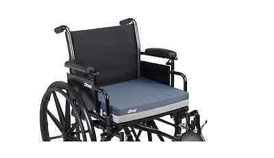 "Drive Medical 3-inch Wheelchair Gel Seat Cushion for 18"" chair"