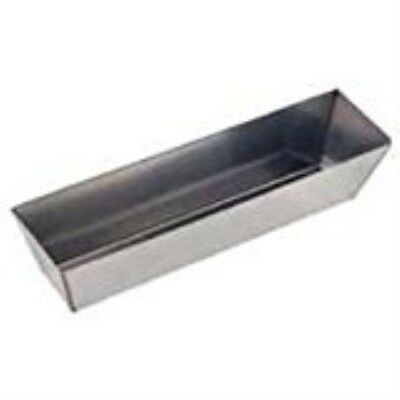MINTCRAFT C052253L Mud Pan 14-Inch Stainless Steel