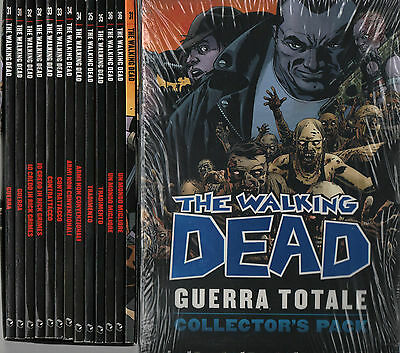 THE WALKING DEAD - COFANETTO COMPLETO GUERRA TOTALE - 31/36 COVER A+B+ 31 cover