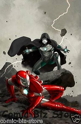 Infamous Iron Man #3 (2017) 1St Print Scarce 1:25 Epting Variant Cover Now