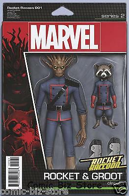 Rocket Raccoon #1 (2017) 1St Printing Christopher Action Figure Marvel Now
