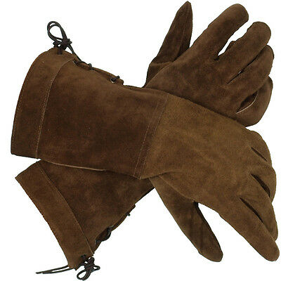 Leather Noblemans Gloves - Perfect For Re-enactment or LARP