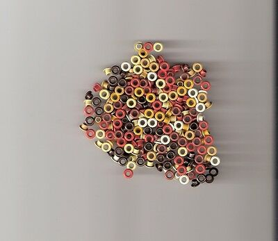 """1/8"""" Fall Color Round Eyelets ** 120 Pcs ** 8 Colors  Final Qty"""