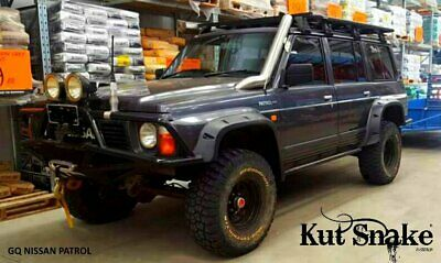 Kut Snake ABS Flares for Nissan Patrol GQ 1990-1997