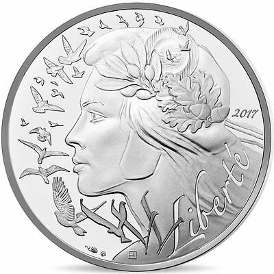 """2017 France 20 Euro Uncirculated Silver Coin """"Marianne Trilogy - Liberty"""""""