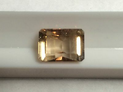 IMPERIAL TOPAZ 7.20ct 8.99X12.50 TOP QUALITY! PAKISTAN 100% NATURAL US SELLER