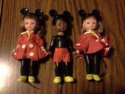 3 Mickey Mouseketeers 2004 McDonalds Alexander Doll Co.