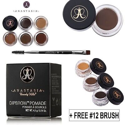 Anastasia Beverly Hills Dipbrow Pomade Eyebrow Definer + FREE Duo brush 12