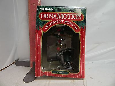 Noma Weather Watch Rotating Ornament - With Motor! Cat. No. 2322 , New In Box!