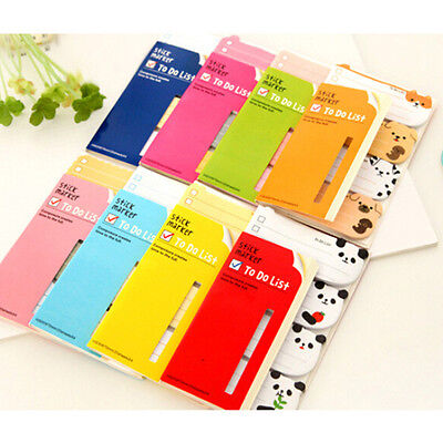 To Do List Sticker Bookmark Marker Memo Flags Index Tab Sticky Notes Gift GT
