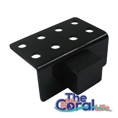 The Coral Life Small Magnet Frag Rack - Black - Holds Up To 8 Plugs
