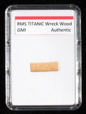 Real Titanic Wood  - Authentic White Star Line artifact with COA.