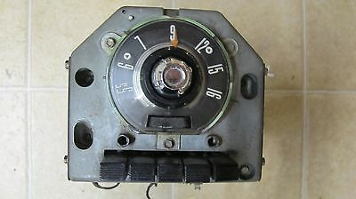 1955 Ford Deluxe Pushbutton Radio Nice !!!
