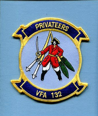 VFA-132 PRIVATEERS BOEING F-18 HORNET US Navy Fighter Squadron Jacket Patch