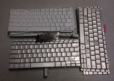 Lot of 14 Apple PowerBook G4 A1181 Apple Keyboards For Laptop Untested For Keys