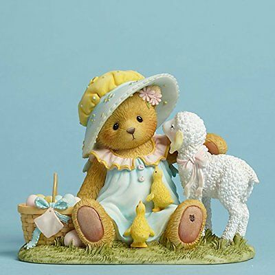 Enesco Cherished Teddies Deandra Easter New Beginnings Lamb Basket 4044691 Nib