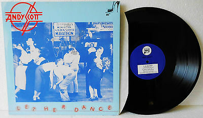 Andy Scott ( The Sweet) Let Her Dance - Vinyl NM   EP signed autograph, UK 1984