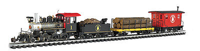 Bachmann-Northwoods Logger Train Set - G