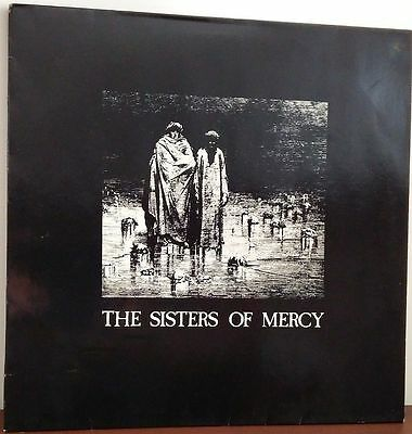 "The Sisters Of Mercy-Body And Soul 12"" Germany Rare Withdrawn WHITE cover Sleeve"