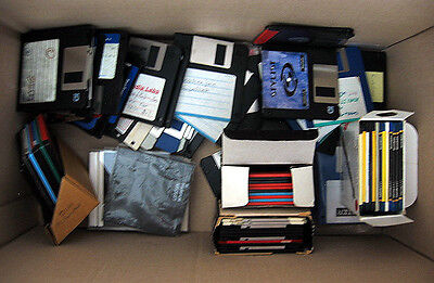 Bulk Lot Assorted Computer PC Floppy Disks HD MF2 and DS DD Double Density