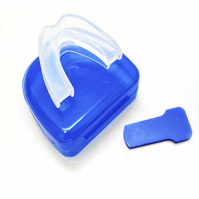Stop Snoring Anti Snore Mouthpiece Apnea Guard Bruxism Tray Sleeping Aid LOT LU