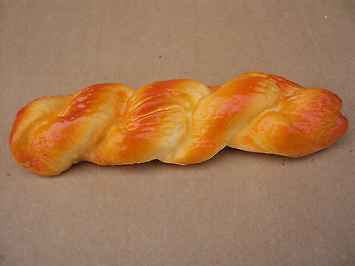 1pcs Long Twisted Bread Artificial Simulation Fake Bread Home Decor