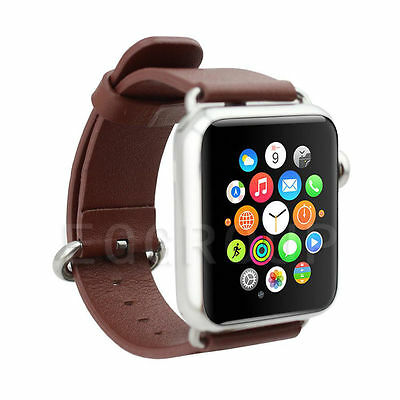 Applw watch 2 iwatch leather watchband 42mm