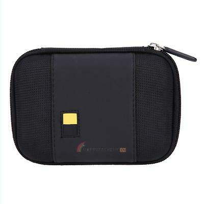 Small Protective Storage Carry Case Bag for 2.5 inch External Hard Drive Black